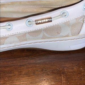 Coach Shoes - Coach Richelle Topsider Boat Shoes
